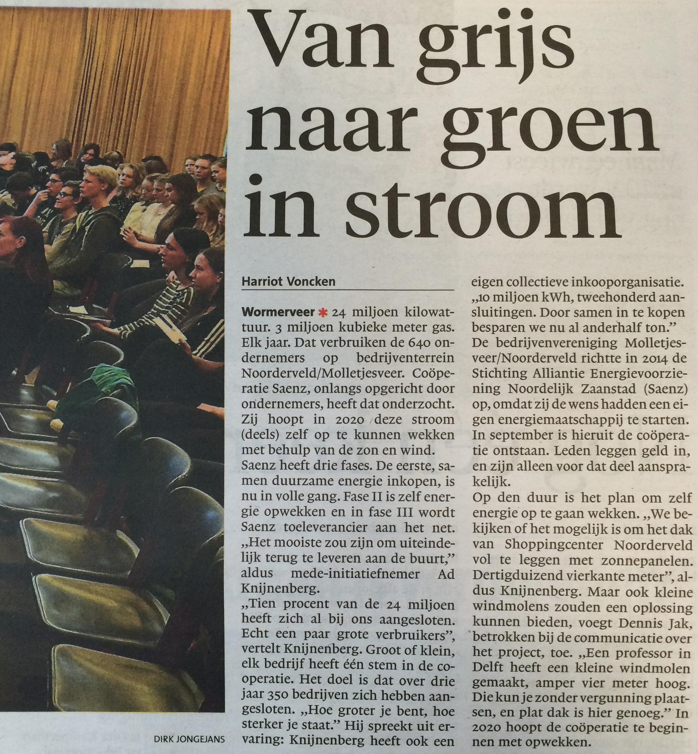 Ad-Knijnenberg-van-Saenz-aan-het-woord-in-het-Noord-Hollands-Dagblad-2-jaargeleden